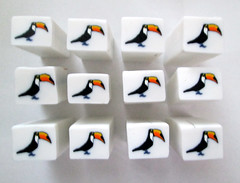 IMG_0394 (Creative Art Center) Tags: toucancane toucan polymerclay polymerclaycanes canes clay unbakedcane