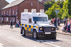 [NEW] 2016 - PSNI - Armoured Land Rover Penman - Station Patrol (Agent Tyler Durden) Tags: new station police led policecar emergency landrover patrol riotpolice 999 bluelights tsg 2016 landroverdefender emergencyvehicle psni policeforce emergencyservice penman policeservicenorthernireland policelandrover psnilandrover landrovertangi tacticalsupportgroup landroverpenman tacticalpolice stationpatrol