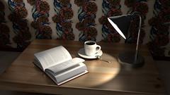 cupcofee25 (ElGusanoBarrenador) Tags: lighting 3dmodeling texturing