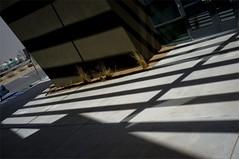 zag zig and shadows (johngpt) Tags: sunlight building shadows angles corners f110 fujifilmfinepixx100 tpfshadows
