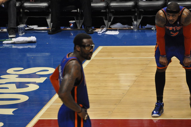 CARMELO ANTHONY with Amare Stoudemire