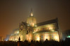 St Magnus Cathedral on a very foggy night! Kirkwall, Orkney (iancowe) Tags: mist cemetery graveyard st misty fog evening scotland orkney cathedral foggy scottish medieval tombstones magnus floodlit stmagnus floodlighting