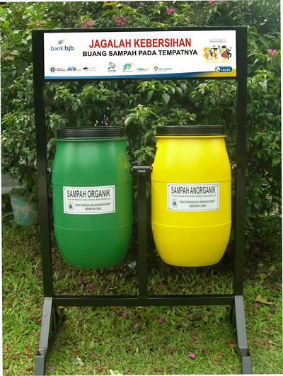 Tempat Sampah Syafiq Bandung Tags Tong Kota Plastik Desa Organik Tongsampah Kompos