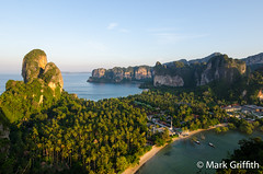 Good Morning Railay (Mark Griffith) Tags: light sunrise thailand hiking hike goldenlight railaybeach dawnpatrol 20120402dsc3658