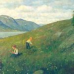 "<b>Midsummer</b><br/> Herbjorn Gausta ""Midsummer"" Oil, 1895 LFAC #003<a href=""http://farm8.static.flickr.com/7113/6900002444_6368e27e8e_o.jpg"" title=""High res"">∝</a>"
