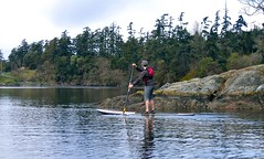 sup27 (vikapproved) Tags: up vancouver island stand whisper bc board paddle columbia victoria evergreen british paddling legend sup