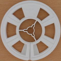 film spool (Leo Reynolds) Tags: film canon eos iso100 ebay squaredcircle 60mm f80 reel spool 0125sec 40d hpexif xleol30x sqset076 xxx2012xxx