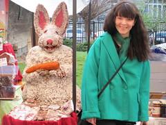(skinny bunny) Tags: bunny me monster marzipan hah bucuresti aprilie 2012