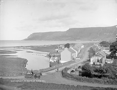 Waterfoot, Co. Antrim, late 19th century (National Library of Ireland on The Commons) Tags: bridge ireland horses pub pipe northernireland driver ladders sidecar ulster antrim glassnegative 1890s windowcleaners waterfoot robertfrench williamlawrence nationallibraryofireland daycar fuls lawrencecollection lawrencephotographicproject federationforulsterlocalstudies federationoflocalhistorysocieties jamesmcauley