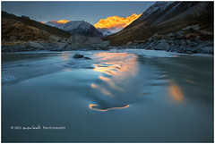 Rippled Silver (Dylan Toh) Tags: newzealand lake landscape photography glacier dee mountcook hookervalley everlook