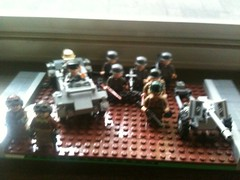 Operation Seige (Fritz4783) Tags: world two france infantry war lego ww2 axis allies brickarms brickfair m1pot mrsoopdesignedthedecals