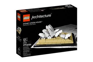 2012 LEGO Architecture系列 經典商品