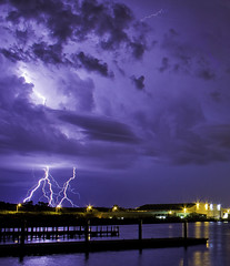 Eerily Calm (RCC Photography) Tags: storm rain danger photo image australia perth western wa thunderstorm lightning fremantle leighton pinjarra
