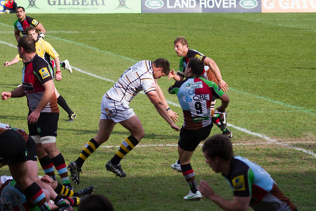 Danny Care about to get clobbered