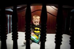 Logan Reading in His Crib (Shannon Cayze) Tags: reading shannon kristen 5d canon5d logan 1740mm canonef1740mmf4lusm px 24inch strobist 580exii cayze ezybox canon580exii 430exii radiopopper 5dmarkii canon430exii canon5dmarkii shannoncayze kristencayze radiopopperpx lastoliteezybox24inch logancayze