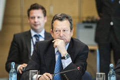 Ivan Hodac at the Ministers' Roundtable