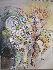 SunMoonWatrColr_small (LouisBraquet) Tags: original art pen ink sketch drawing originalart surrealism dream surreal fantasy surrealist dreamlike mythology unconscious penandink alchemy psychology jungian alchemicalart freudian hallucinogenic psychoanalysis sunandmoon watercolorpainting fantasticrealism subconscious alchemical psychoanalytical mythologicalart modernsurrealism modernsurrealist unconsciousimagery solandluna