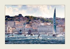 41a Barcolana: La festa (Maurizio Roccia) Tags: mare barche vela roccia trieste maurizio regata barcolana imbarcazioni
