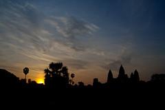 Angkor Wat at Sunrise (HDR)