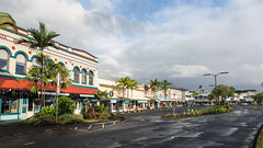 Kamehameha Avenue -- Hilo, Hawaii (mutrock) Tags: usa rain architecture buildings island hawaii day hi bigisland hilo 2012 kamehamehaavenue shata shatabuilding