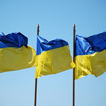 "Ukrainian flags<a href=""http://www.flickr.com/photos/28211982@N07/7435031294/"" target=""_blank"">View on Flickr</a>"