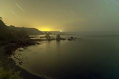 el silencio3 (Adolfo Mtez) Tags: contraluz faro estrellas nocturna castaeras silenco gavieru