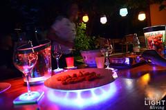 Sommerlicht Serie: Fussball-EM-Party: Kick it - mit Licht (SmartLightLiving) Tags: lighting party shop germany lampe licht fussball stuttgart outdoor laden led trends tealights vase em accessoires beleuchtung coasters schale coolers lumiware ecomoods philipsleuchte