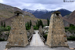 Bridge. (Syed Sarmad Bukhari) Tags: road trip bridge pakistan mountains college nature hiking wildlife north medical rua barren khyber sarmad chitral kalaash bhamborate