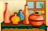 Vases Table and Window 2004