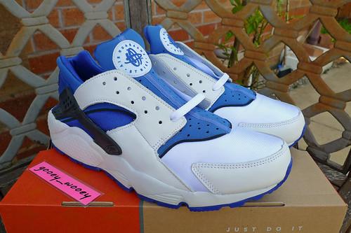 finest selection 4707a 6077e uk womens nike air huarache run 02a05 880e4  best nike air huarache white  metro blue sport royal black 305957 142 21bd1 16324