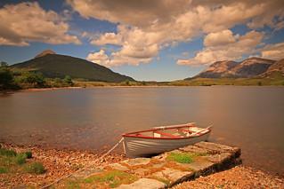 Loch More, Sutherland.