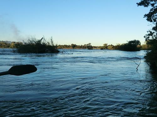 Wir rundern auf den Wasserfall zu - Cataratas del Iguazu (Argentinien)