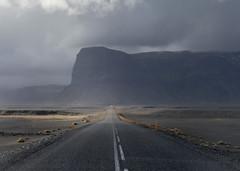 The Long Road (Mute*) Tags: road mountain landscape coast iceland south ring southern route1 þjóðvegur lómagnúpur dofmontage
