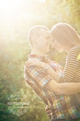 Engagement Sunflare (Shauna Stanyer (Northern Pixel)) Tags: canada photography george engagement bc photographers prince columbia pg pixel british session northern northernpixelphotography