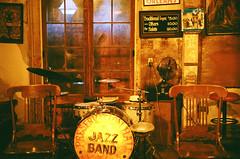 Preservation Hall Jazz (shuzhens) Tags: new film 50mm hall nikon orleans kodak jazz 400 f3 portra preservation