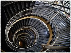 Gesundheitshaus | Dortmund | 50er Jahre (Fiktion des Faktischen) Tags: treppe architektur dortmund gesundheitsamt