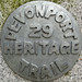 Devonport Heritage Trail marker