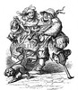 0038555 (Granger Historical Picture Archive) Tags: musician dog pet playing men couple leg beggar violin engraving dailylife mrs handicap renaissance amputee 16thcentury pegleg