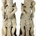 40. Pair of Southeast Asian Guardian Figures