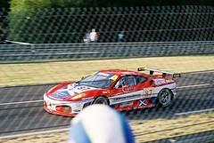Scuderia Ecosse Ferrari F430 GT2 (Moments of Yesterday) Tags: chris france film 35mm tim 2006 andrew mans le hours 24 amateur francais mullen sarthe kirkaldy niarchos