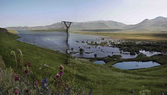 Spandarian reservoir (Zoi Environment Network) Tags: water photo view hill reservoir armenia lanscape syunik spandarian spandaryan