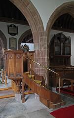 Worcester, St John in Bedwardine. (Tudor Barlow) Tags: england churches stjohns worcestershire worcester listedbuilding pulpits parishchurch churchinteriors gradeiilistedbuilding worcesterstjohns