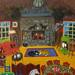 """Adirondack Interior 2,"" acrylic. Artist Ursula Trudeau."