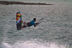Kitesurfing in Masirah Island (Oman Tourism) Tags: surfing kiteboarding kitesurfing parasalling omanadventure
