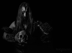 Gorgoth (FurfangosFrigyes) Tags: blackandwhite music metal death band szeged athame blackmetal hungery