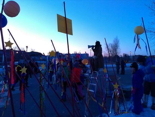 Parade beginning