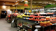 Produce section at Four Corners Safeway (SchuminWeb) Tags: county wood food building fruits vegetables retail fruit marina silver buildings shopping four march foods wooden store spring md university boulevard ben interior web lifestyle style maryland vegetable fresh ceiling beam aisle older format produce montgomery grocery remodel stores safeway silverspring groceries department 1962 beams blvd fourcorners ceilings corners 2014 retailer remodeled aisles retailers marinastyle schumin schuminweb