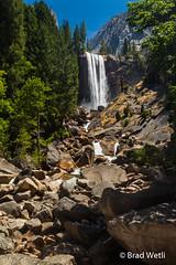 Vernal Fall (Brad Wetli Photography) Tags: waterfalls yosemitenationalpark vernalfall misttrail