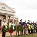 Annual presentation of wreaths in commemoration of Jefferson's birthday