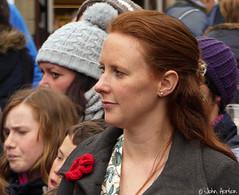 Clun Green Man Festival 009 (Row 17) Tags: uk greatbritain england people woman women village shropshire unitedkingdom britain country crowd streetlife streetscene gb spectator clun